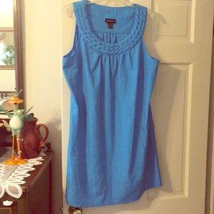 Lane Bryant crinkle dress